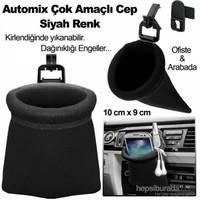 Automix Çok Amaçlı Kese Siyah