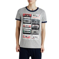 Jack & Jones T-Shirt Jjorretro Ss Crew Neck 12102489-Lgm