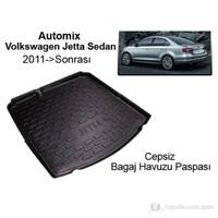 Automix Volkswagen Jetta Sedan Bagaj Havuzu Paspası 2011 ->Sonrası