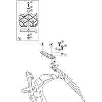Gıvı Sr4105m Kawasakı Versys 1000 (12-15) Arka Çanta Tasıyıcı