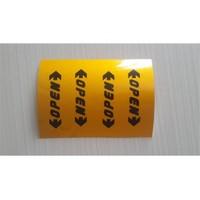 Tsc Araba Kapı İçe Open Sticker Etiketi