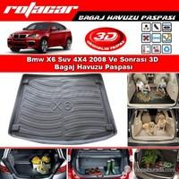 Bmw X6 Suv 4X4 2008 Ve Sonrası 3D Bagaj Havuzu Paspası BG07