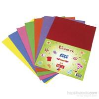 Ticon 90095 A4 Keçe 2 Mm 10 Renk