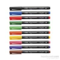 Lineplus 10778 S Uç Asetat Kalemi Siyah
