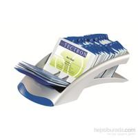 Durable Vegas Masaüstü (200 Kart Kapasiteli) Kartvizitlik - Beyaz