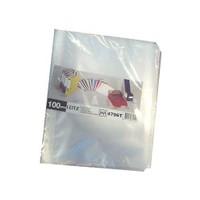 Leitz Poşet Dosya A5 6 Delikli (50 Adet) Buzlu 479510