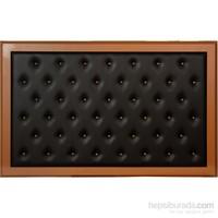 Akyazı 100x150 Düğmeli Makam Arkalığı (Siyah)