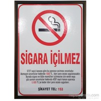 Akyazı 50x70 Sigara İçilmez Panosu (Mdf Çerçeve)