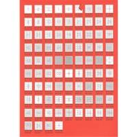 Bp A4 Lazer Etiket Ölçüleri 117 Mm Cd / Dvd Etiketi 100 Sayfa Laser Yazıcı Etiketi