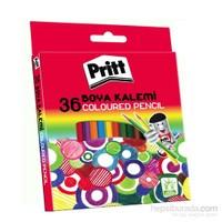 Pritt Boya Kalemi 36 Renk - Karton Kutu - ESKİ KOD