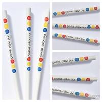 Çocuklar Gülsün Diye Baskılı Kurşun Kalem - Renkli