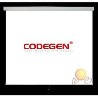 Codegen A18 (180x180) Storlu Projeksiyon Perdesi