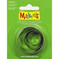 Makin's Clay Yuvarlak Kesme Kalıbı 3 Parça (36001)