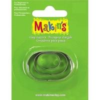Makin's Clay Oval Kesme Kalıbı ( 36005 )