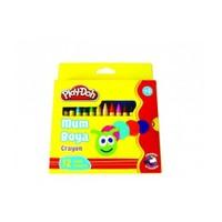 Play Doh 12 Renk Keçeli Kalem Karton Kutu 5 Mm