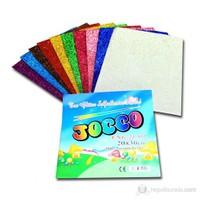 Jocco Simli Yapışkanlı Eva 10 Renk