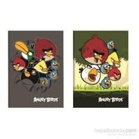 Keskin Color Angry Birds Tel Dikişli A5 Okul Defteri 56 Yaprak Kareli