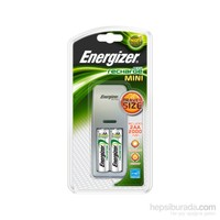 Energizer (F2-4820) Mini Duo Şarj Cihazı 2xAA 2000 Mah Kalem Pilli