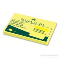 Faber-Castell Yapışkan Notluk 125x75mm Sarı (5089565501)