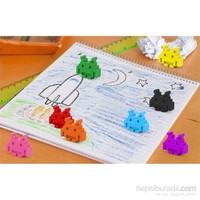 Kikkerland Crayon Boya Kalemi Space Invader 8Li Set