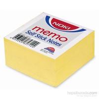 Noki Memo 75 x 75mm Sarı Küp Yapışkanlı Not Kağıdı 400 Yaprak