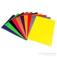 Ticon 73817 Fon Kartonu 50 x 70 cm 10 Renk Karışık
