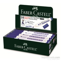 Faber-Castell Beyaz Tahta Kalemi W20 Mavi, 10'lu