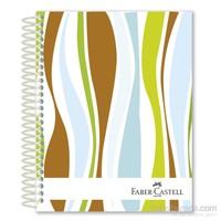 Faber-Castell Sert Kapak Sep.3+1 Dalgalar Defter 80gr 120 Yaprak (5075400307)