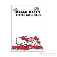 Keskin 451002-60 Hello Kitty Little A5 40 Yaprak Kareli Plastik Kapak