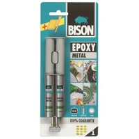 Bison Epoxy Metal 24 Ml Çift Şırınga Blister