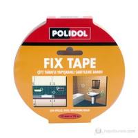 Polidol Fix Tape 19mmx10m Çift Taraflı Bant