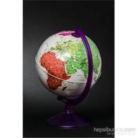 Gürbüz Dünya Küresi 26 cm (7 Renk)