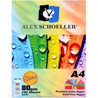 Alex Schoeller Fotokopi Kağıdı A4 10 Renk 100 Lü Alx-779