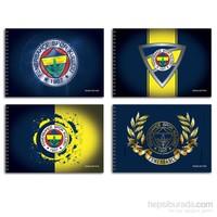 Keskin 300115-65 Fenerbahçe 17x25 cm Resim Defteri 15 Yaprak