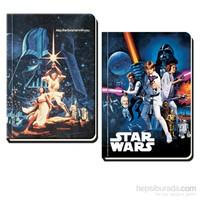 Keskin 411760 Star Wars Ciltli 17x24 cm 160 Yaprak Düz Defter