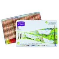 Derwent Academy Watercolour Pencils Aquarel Boya Teneke Kutu 36 Renk