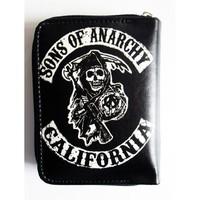 Köstebek Sons Of Anarchy Logo Cüzdan