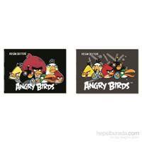 Keskin Angry Birds Spiralli Resim Defteri 35x50 cm 15 Yaprak