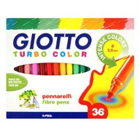 Giotto Turbo Color Keçeli Kalem 36'Lı Kutu 418000