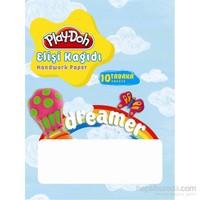 Play-Doh Elişi Kağıdı Zarflı 10 Renk Play-Ek001