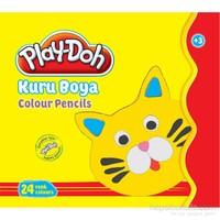 Play-Doh 24 Renk Kuru Boya Teneke Kutu Play-Ku014