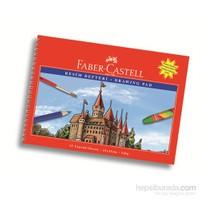 Faber-Castell Karton Kapak Resim Defteri 25x35 cm 15 Yaprak (5075400025)