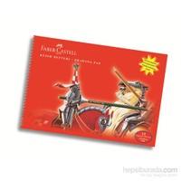 Faber-Castell Karton Kapak Resim Defteri 35x50 cm 15 Yaprak (5075400035)