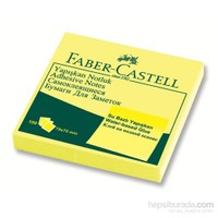 Faber-Castell Yapışkan Notluk 75x75mm Sarı (5089565401)
