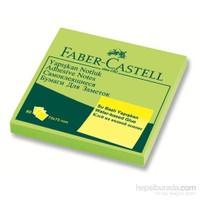 Faber-Castell Yapışkan Notluk 75x75mm Fosforlu Yeşil (5089565433)