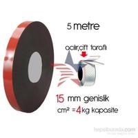 HomeCare Akrilik Çift Taraflı Bant 1,5 cm x 5 Mt cm2=4 kg