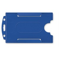 Mas 3522 Plastik Kart Muhafaza- Dikey-54X86-B.Mavi 50Li