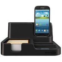 Mas 6608 Desk Organızer-Galaxy Charger Siyah,
