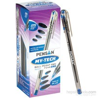 Pensan My-Tech Tükenmez Kalem 0.7 Mm Mavi 25'li
