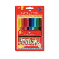 Faber-Castell Eğlenceli Keçeli Kalem + Boyanabilir Hafıza Kartı Oyunu 155053